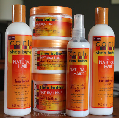 Cantu Shea Butter Natural Hair products review