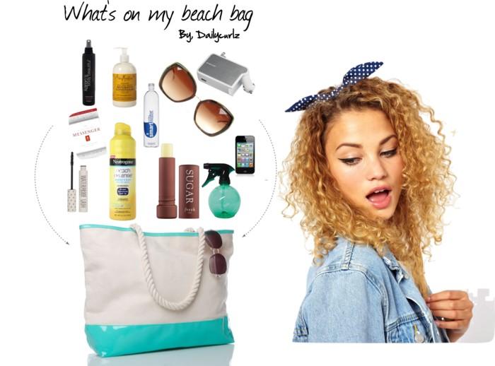 what' s on my beach bag