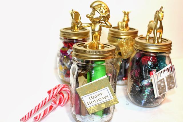 DIY Christmas Gift in a Mason Jar