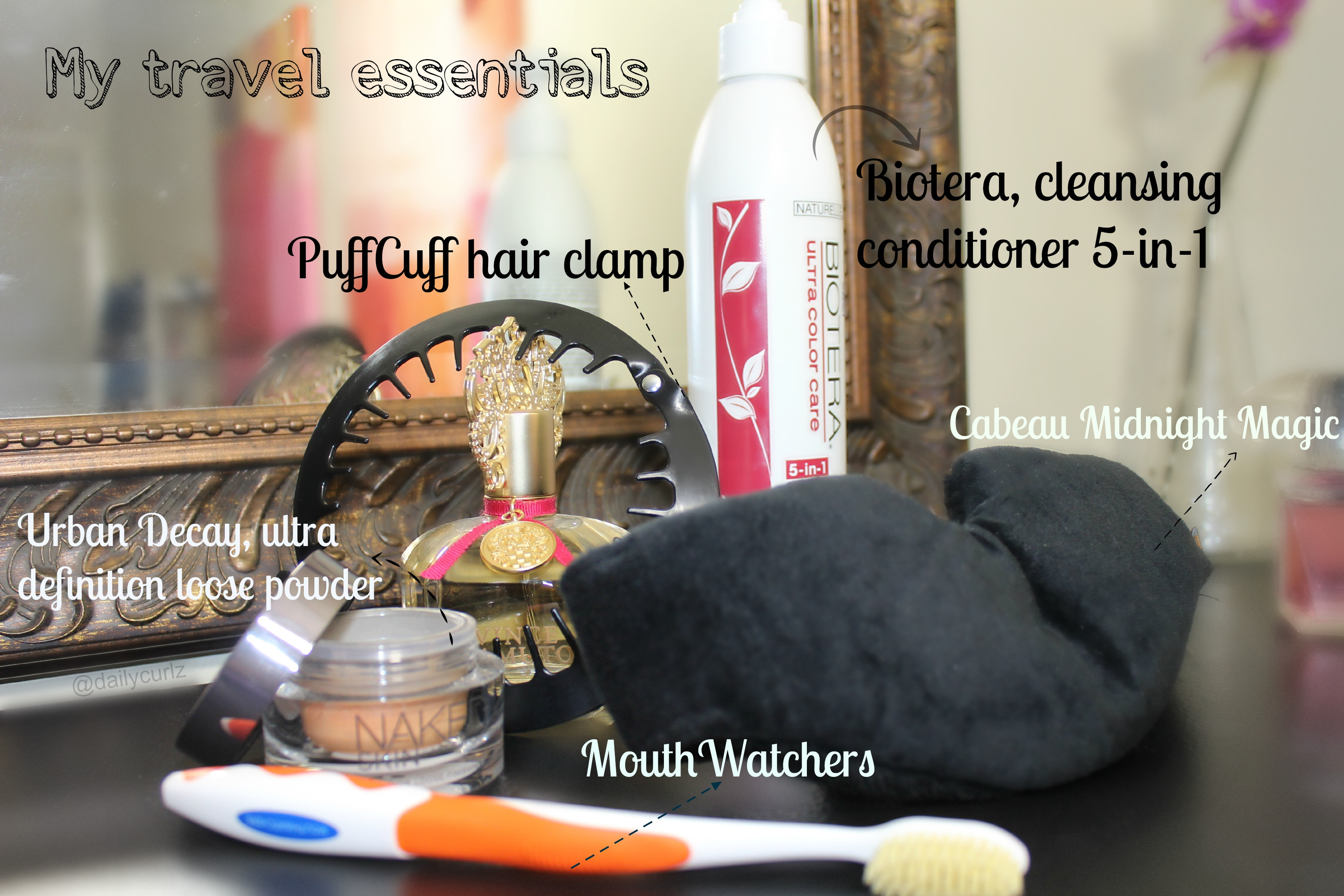5 travel beauty essentials / Mis esenciales de viaje