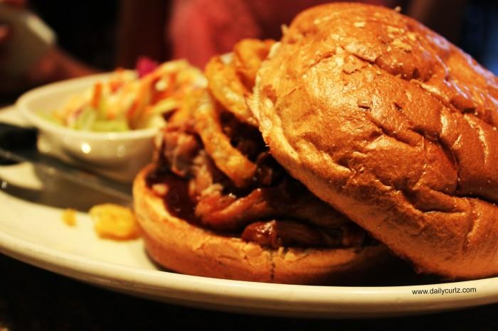 The photographer dish (AKA Dafne) BBQ PULLED PORK SANDWISH...