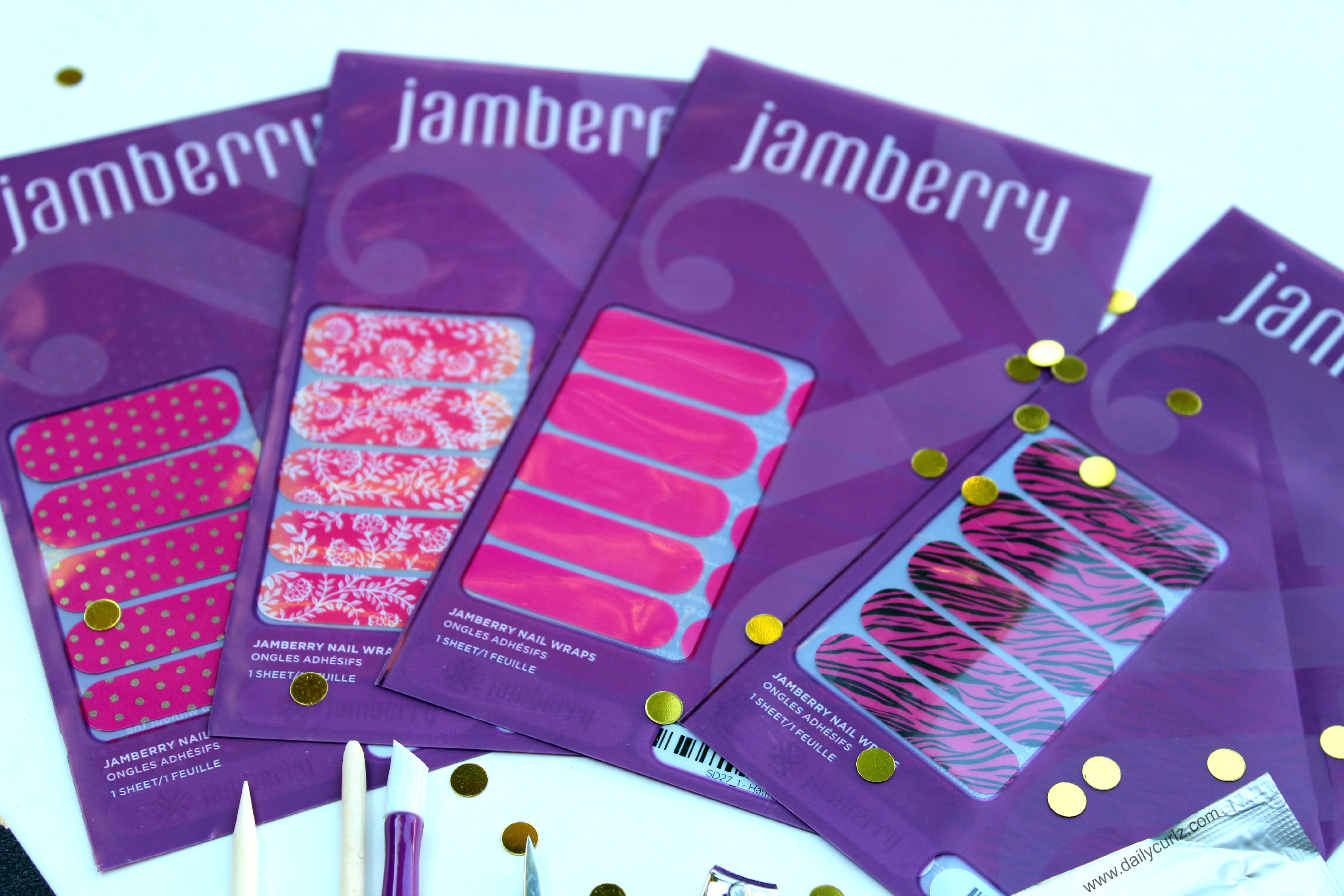 Jamberry Nail wraps / Calcomanias para las uñas Jamberry
