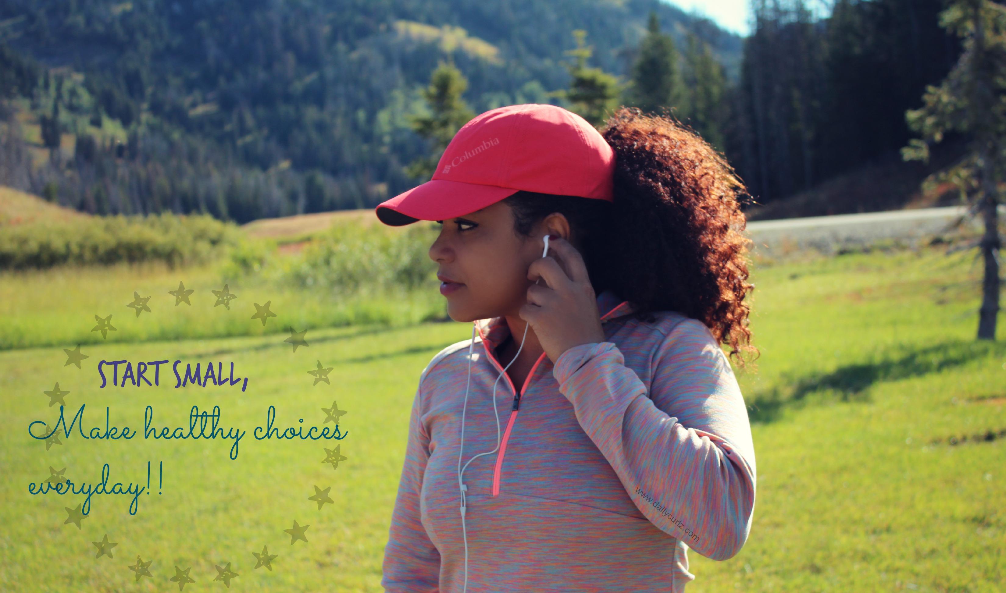5 ways to make healthy choices on a budget/ 5 maneras de estar en forma sin gastar mucho