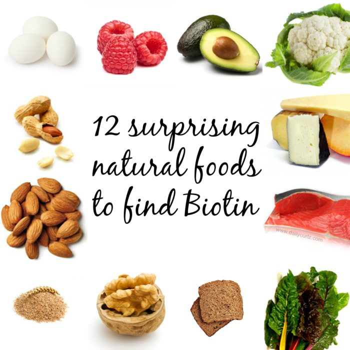 12 Natural Surprising Foods To Find Biotin