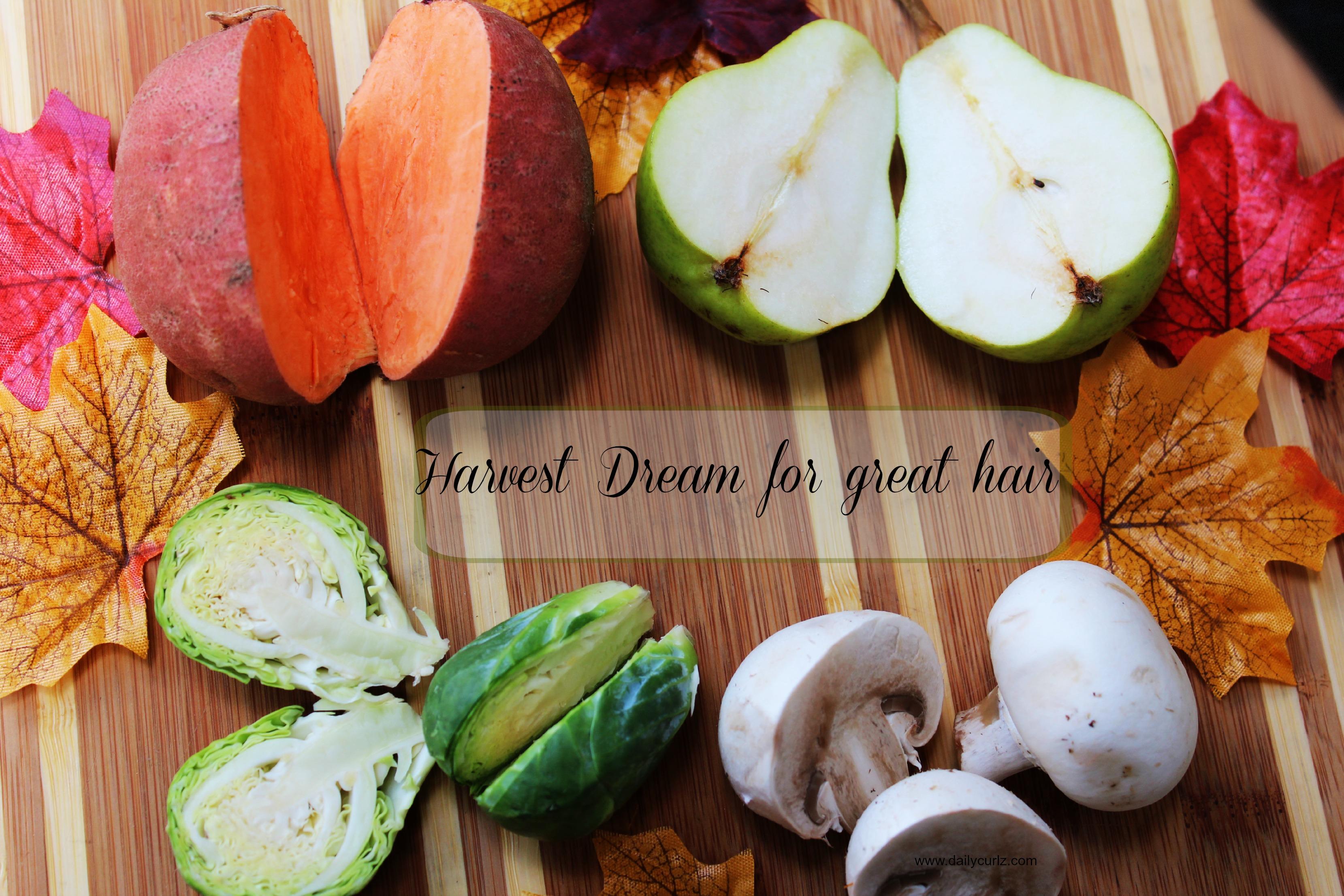 Harvest dream for great hair / Que comer este otoño para un cabello saludable