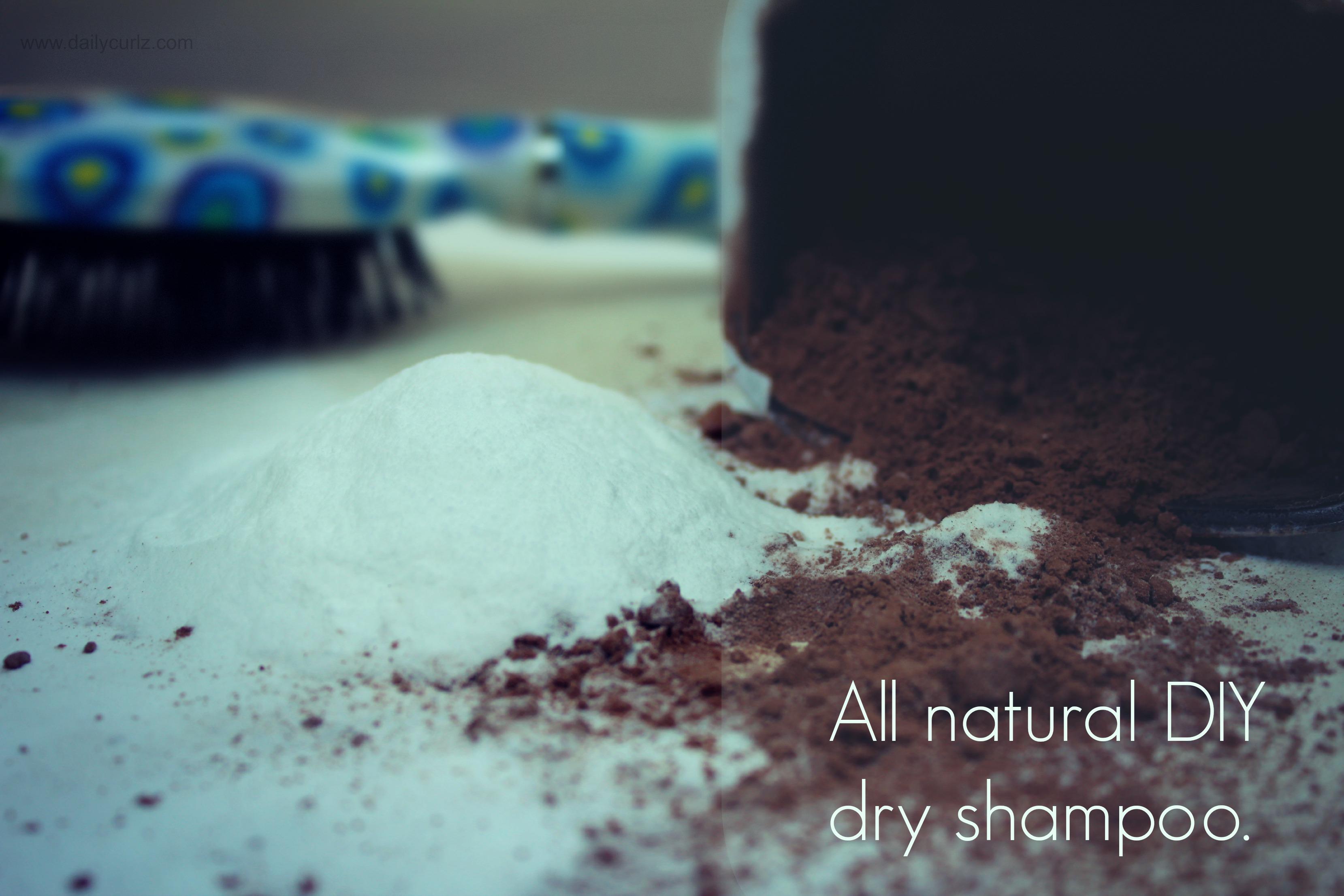 All Natural DIY Dry Shampoo/ Champú en seco casero