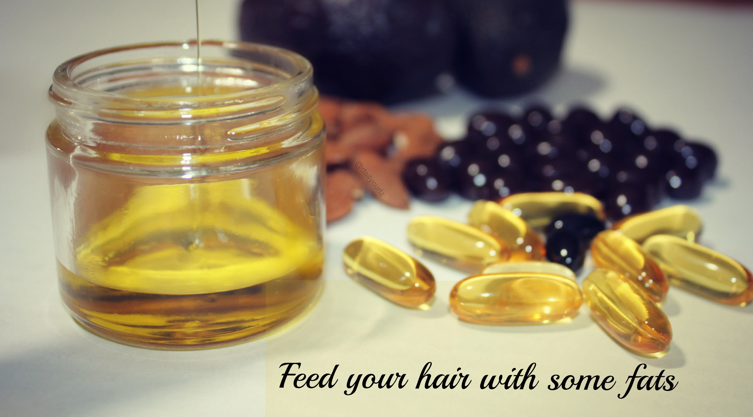 Feed your hair with some fats / Alimenta tu cabello con las mejores grasas