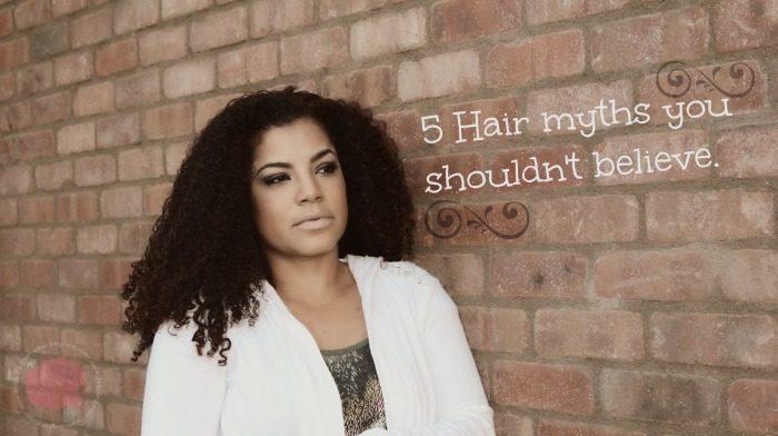 hair myths you shouldn't believe