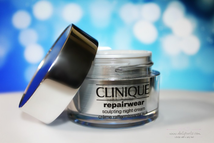 NEW! Sculpting Night Cream by Clinique |La nueva crema de Clinique.