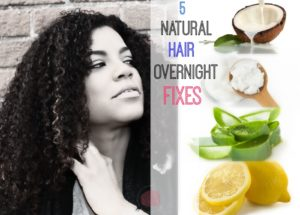 5 natural hair overnight treatments