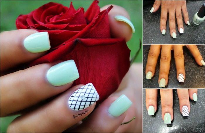 easy nail art design