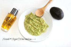 avocado and organ oil  hair mask