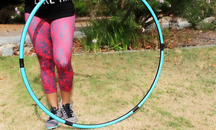 Workout on the go |Adelgazar con hula hoop