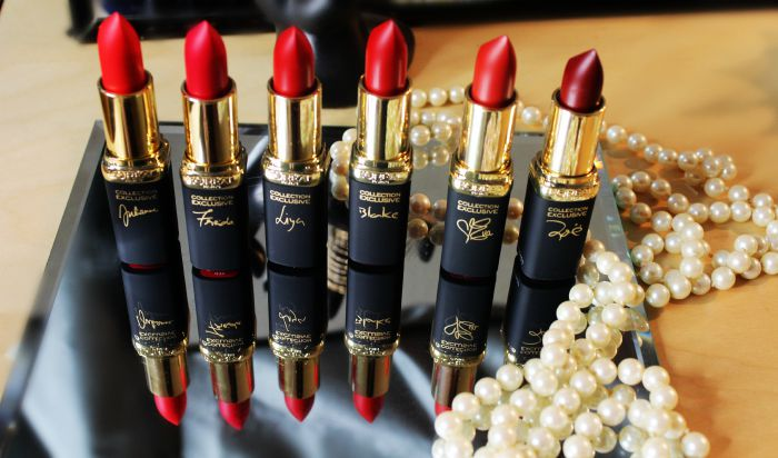 L'Oreal Pure Reds Lipstick collection review |Nuevos labiales rojos de L'Oreal