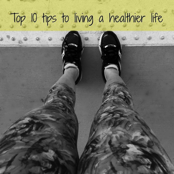 Top 10 tips to living a healthier life|10 consejos para una vida saludable
