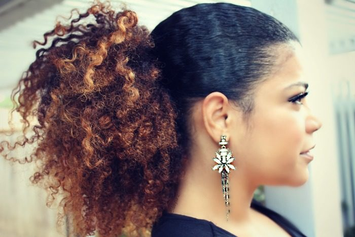 easy and cute curly hair style