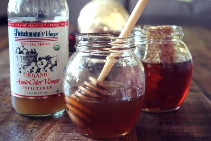 honey apple cider vinegar hari mask