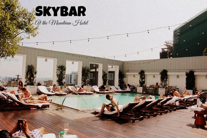 The three hottest rooftops in LA |3 lugares que debes visitar este verano
