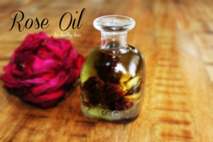 benefits of rose oil for hair
