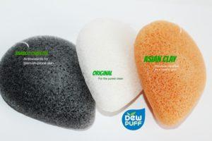 pure plant fiber sponge dew puff
