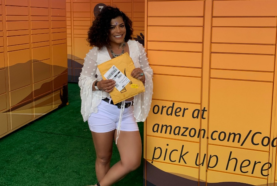Amazon Brought Lockers to Coachella and it was Amazo…ing